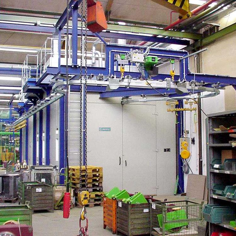 Durst Lackieranlagen – Fördertechnik Automation