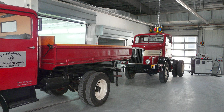 Durst Lackieranlagen – Lackierkabine für LKW/Großfahrzeuge