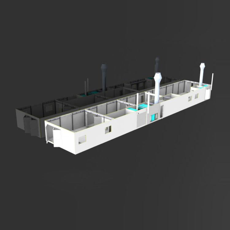 Durst Lackieranlagen – Container-Technologie