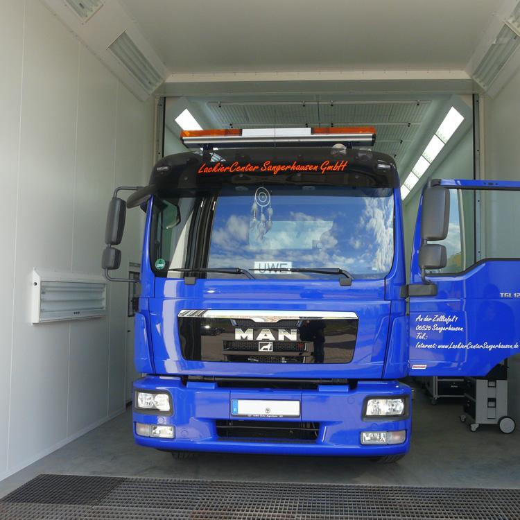 Durst Lackieranlagen – Lackierkabinen für LKW