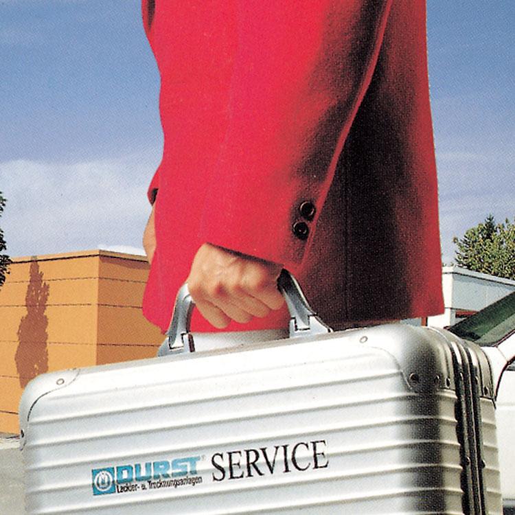 Durst Lackieranlagen – Kundendienst & Ersatzteile