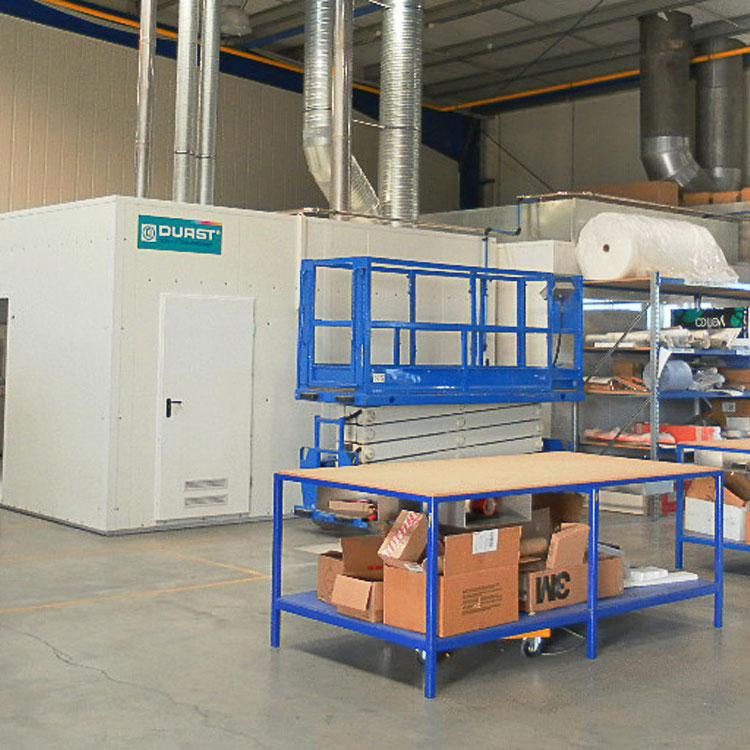 Durst Lackieranlagen – maßgeschneiderte Containersysteme